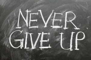 n'abandonne jamais