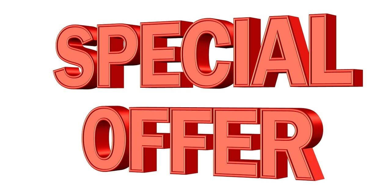 réduction offre spéciale