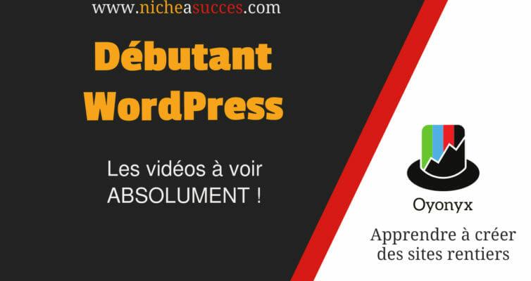 Débutant WordPress vidéos